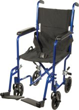 Drive medical ATC-19 wheelchair, atc19 wheelchair, transport wheelchair, companion wheelchair